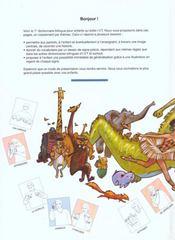 Dictionnaire bilingue français/langue des signes pour enfants - 4ème de couverture - Format classique