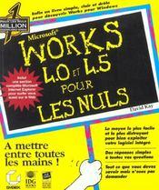 Works 4.0 Et 4.5 Pour Les Nuls - Intérieur - Format classique