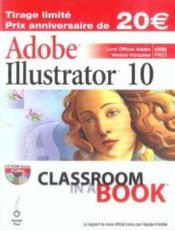 Illustrator 10 - Couverture - Format classique