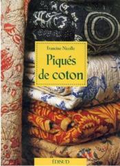 Piqués de coton - Couverture - Format classique