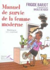 Manuel de survie de la femme moderne - Couverture - Format classique