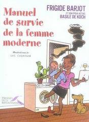 Manuel de survie de la femme moderne - Intérieur - Format classique