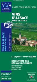 Vins d'Alsace - Couverture - Format classique