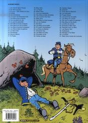 Les tuniques bleues t.51 ; Stark sous toutes les coutures - 4ème de couverture - Format classique