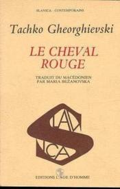 Le Cheval Rouge - Couverture - Format classique