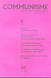 C4 Communisme 1983 - Couverture - Format classique