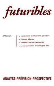 Futuribles N.117 Janvier 1988 - Couverture - Format classique