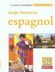 Espagnol; College Et Lycee - Intérieur - Format classique