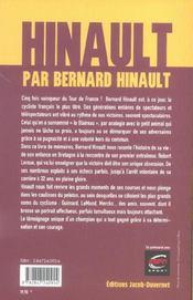 Hinault par Bernard Hinault ; une volonté au service d'un destin - 4ème de couverture - Format classique