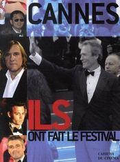 Cannes ; ils et elles ont fait le festival - Intérieur - Format classique