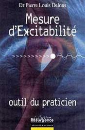 Mesure D'Excitabilite Neuro-Musculaire - Couverture - Format classique