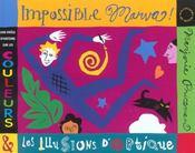 Impossible Marva ! ; une drôle d'histoire sur les couleurs et les illusions d'optique - Intérieur - Format classique