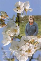 Madeleine aumont ; du 28 mars 1972 l'an 2000 ; dozulé - Couverture - Format classique