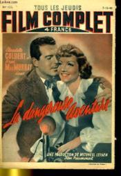 Tous Les Jeudis Film Complet N° 123 - La Dangereuse Aventure - Couverture - Format classique