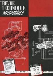 Revue Technique Automobile - N°243 - Couverture - Format classique