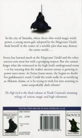 Vente livre :  THE HIGH LORD - THE BLACK MAGICIAN TRILOGY BOOK THREE  - Trudi Canavan
