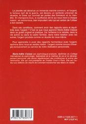Comment Avoir De Bons Rapports Avec L'Argent - 4ème de couverture - Format classique