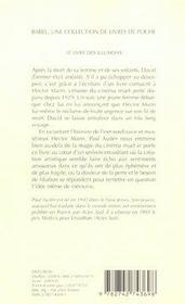 Le Livre Des Illusions - 4ème de couverture - Format classique