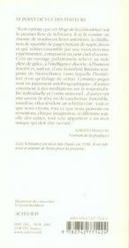 Eloge De La Coincidence - 4ème de couverture - Format classique
