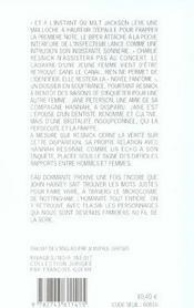Eau Dormante - 4ème de couverture - Format classique