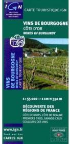 Vins de Bourgogne ; Côte d'Or - Couverture - Format classique