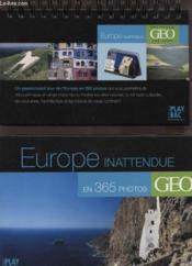 Europe inattendue en 365 photos - Couverture - Format classique