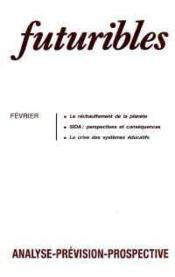 Futuribles N.118 Fevrier 1988 - Couverture - Format classique