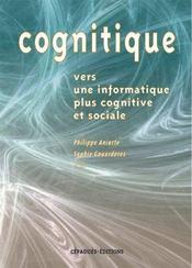 Cognitive ; Vers Une Information Plus Cognitive Et Sociale - Intérieur - Format classique