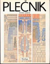 PLECNIK. Une lecture des formes - Couverture - Format classique