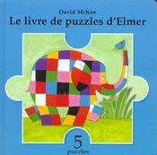 Le Livre De Puzzles D Elmer - Intérieur - Format classique