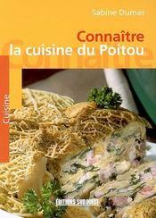 Connaitre la cuisine du Poitou - Intérieur - Format classique