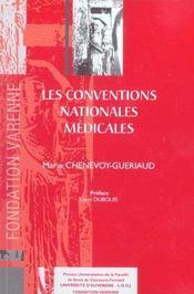 Les conventions nationales medicales - Intérieur - Format classique