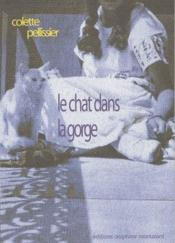 Le chat dans la gorge - Couverture - Format classique