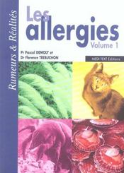 Les allergies t.1 ; rumeurs et réalités - Intérieur - Format classique