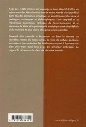 Références culture générale - 4ème de couverture - Format classique