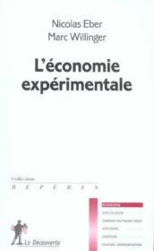L Economie Experimentale. Collection Reperes N°423 - Couverture - Format classique