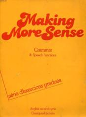 Making More Sense Td  - Capelle