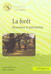 La Foret Ressource Et Patrimoine - Intérieur - Format classique