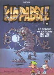 Kid Paddle t.11 ; le retour de la momie qui pue qui tue - Intérieur - Format classique