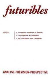 Futuribles N.119 Mars 1988 - Couverture - Format classique