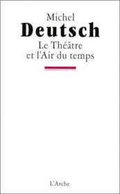 Le théâtre de l'air du temps - Couverture - Format classique