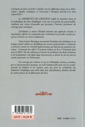 Memento de l'edition - 4ème de couverture - Format classique