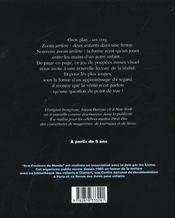 Zoom - 4ème de couverture - Format classique