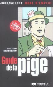 Guide De La Pige 5e Ed(2005-2006) - Intérieur - Format classique