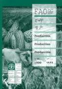 Production yearbook 1999 t.53 ; fao statistics series n.156 ; multilangual - Couverture - Format classique