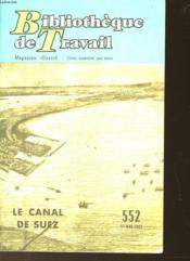 Bibliotheque De Travail - Magazine Illustre N°552 - Couverture - Format classique