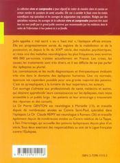 L'Epilepsie Nouvelle Edition Refondue Et Mise A Jour - 4ème de couverture - Format classique