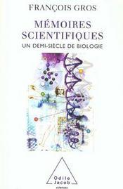 Memoires Scientifiques - Intérieur - Format classique