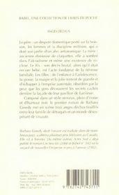 Anges dechus - 4ème de couverture - Format classique
