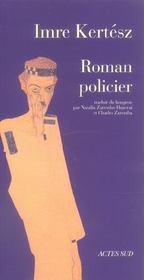 Roman Policier - Intérieur - Format classique